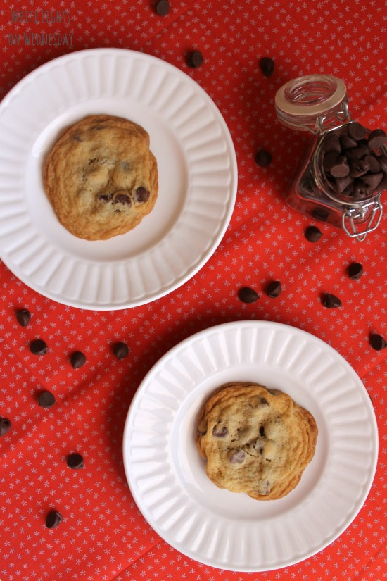 My Favorite Chocolate Chip Cookies | White Lights on Wednesday