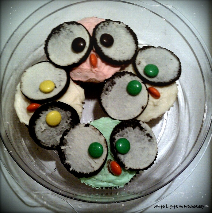 Owl-Dorable Cupcakes