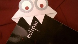 Monster Page Corner Bookmark