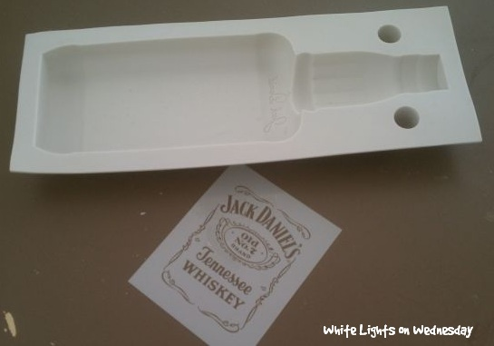 Jack Bottle Cake Mold