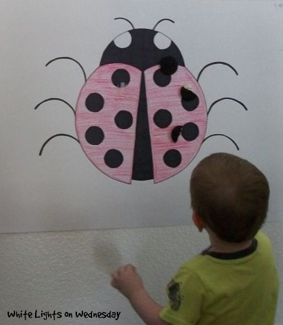 Pin the Spot on the Ladybug