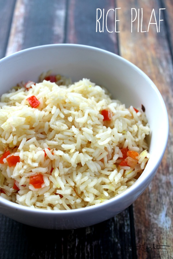 Rice Pilaf | White Lights on Wednesday