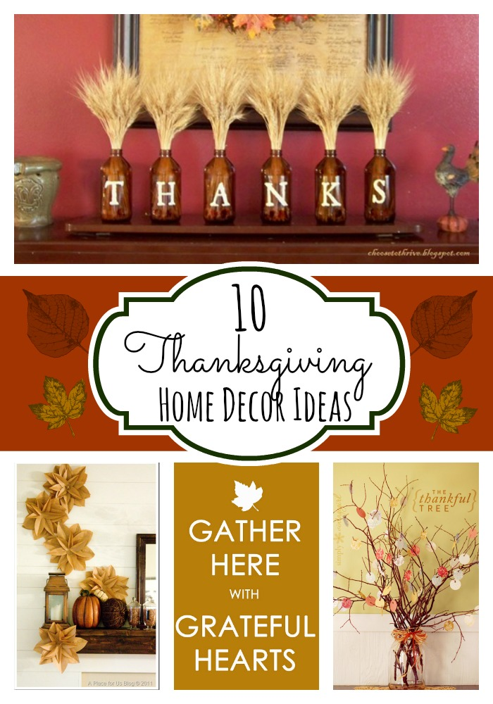 10 Thanksgiving Home Decor Ideas
