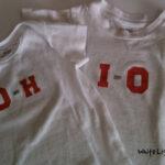 DIY O-H! I-O! Shirts