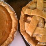 Pumpkin & Peach Pies