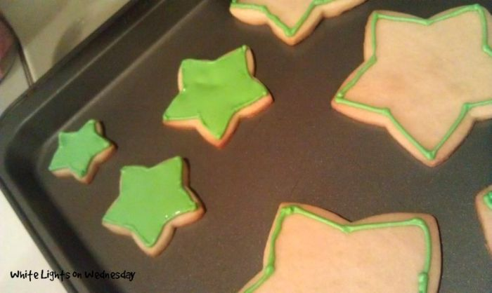 Cookie Christmas Tree | White Lights on Wedneday