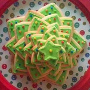 Cookie Christmas Tree FEAT