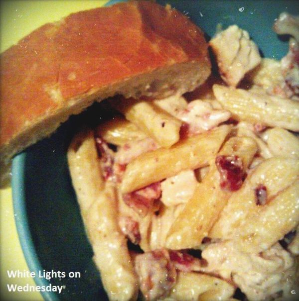 Cheesy Bacon and Chicken Pasta