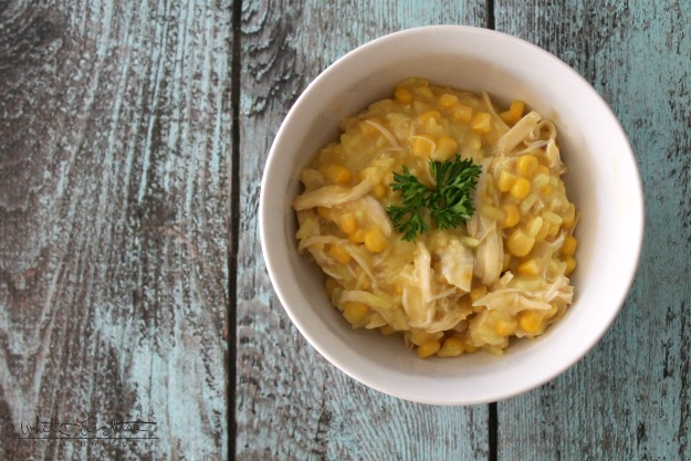 Slow Cooker Cheesy Chicken & Rice 2