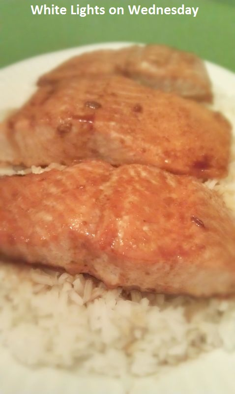 Soy-Glazed Salmon - White Lights on Wednesday