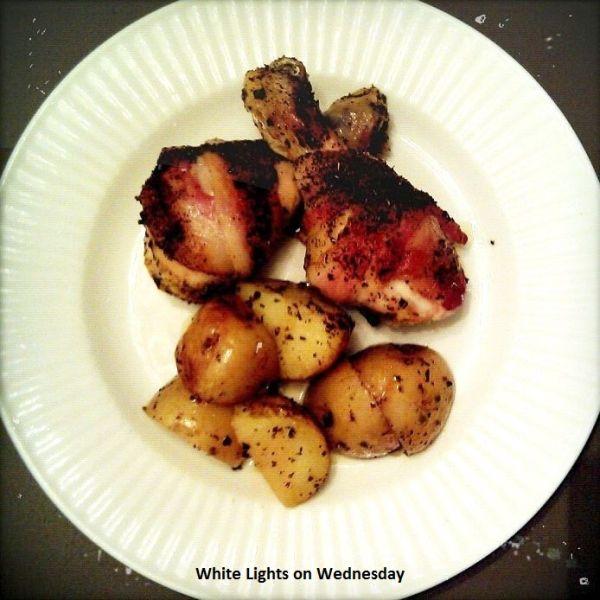 Adobo Chicken & Potatoes 1