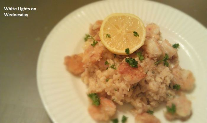 Shrimp & Lemon Risotto 1