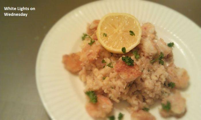 Shrimp & Lemon Risotto 1