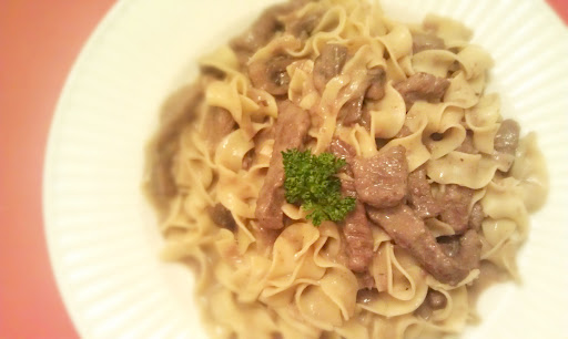 Alton Brown's Beef Stroganoff