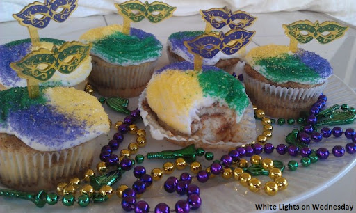 King (cup) Cakes for Mardi Gras