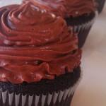 Chocolate Jack Daniel's Cupcakes