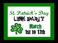 st patty's link party