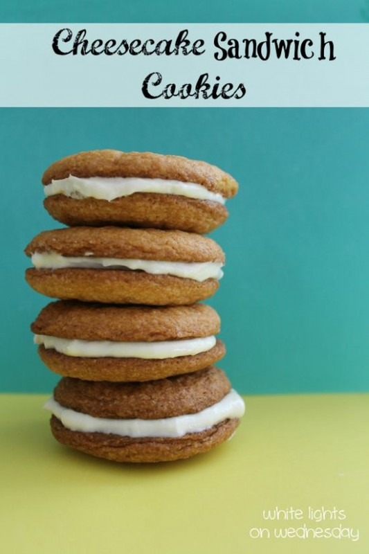 Cheesecake Sandwich Cookies 3.5