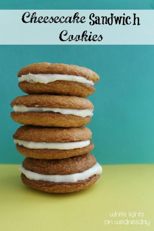Cheesecake Sandwich Cookies 3.5
