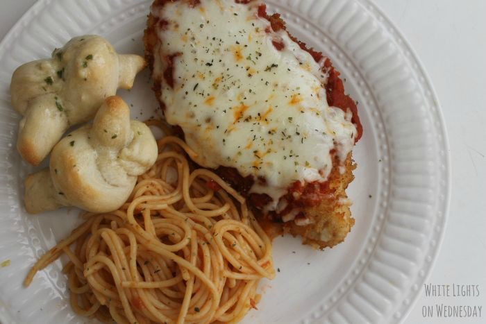 Mike's Favorite Chicken Parmesan