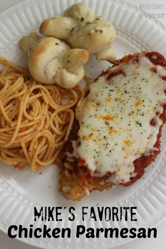 Chicken Parmesan - White Lights on Wednesday