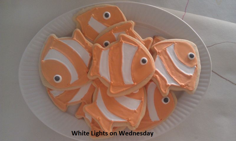 Clown Fish Cookies