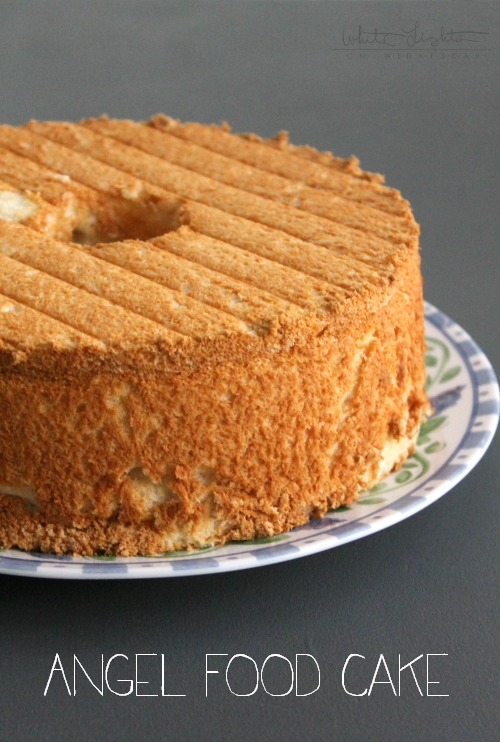 Angel Food Cake | White Lights on Wednesday