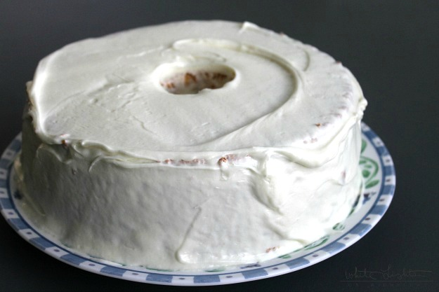 Angel Food Cake | White Lights on Wednesday