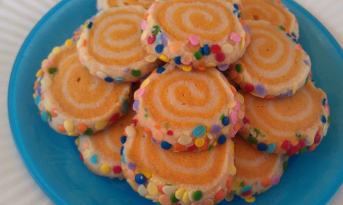 Colorful Spiraled Cookies 1