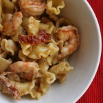 Sun-Dried Tomato & Balsamic Shrimp Pasta