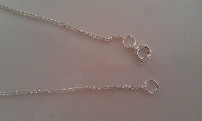 Fabric Pendant Necklace 13