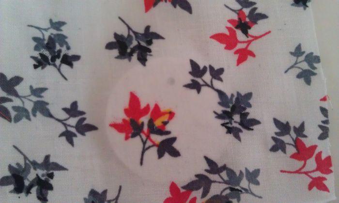 Fabric Pendant Necklace 8