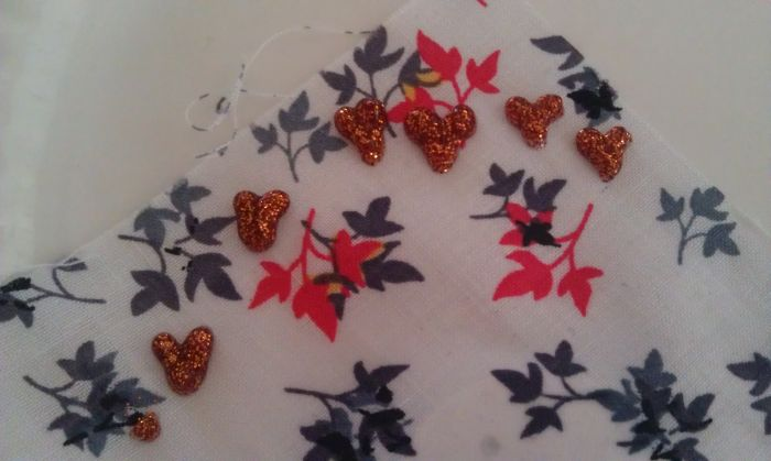 Fabric Pendant Necklace 9