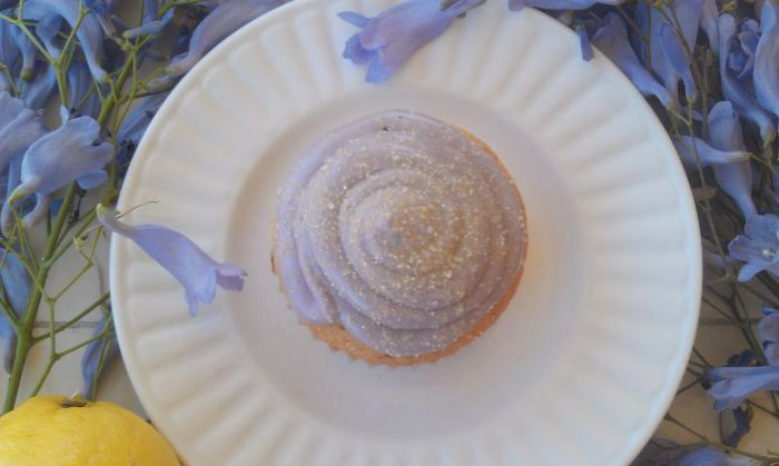 Honey Lemon Lavender Cupcakes 2