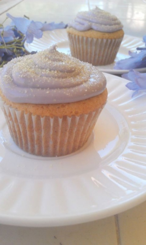 Honey Lemon Lavender Cupcakes 3