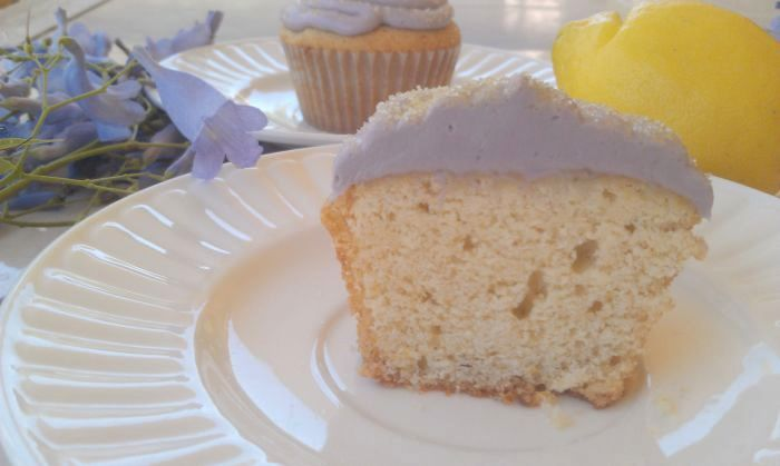 Honey Lemon Lavender Cupcakes 4