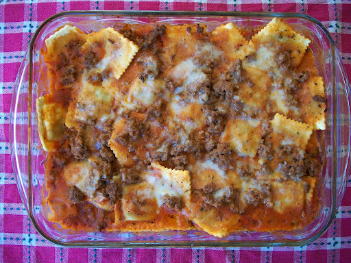 Lazy Beef Lasagna | White Lights on Wednesday