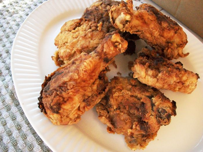 Carla Hall's Fried Chicken 1
