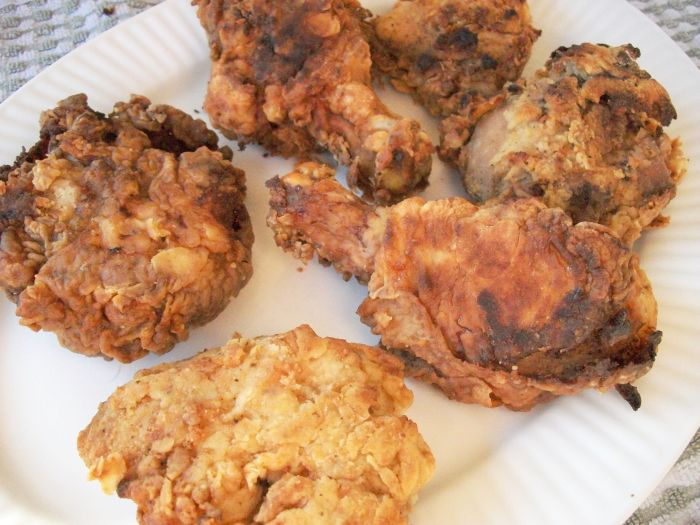 Carla Hall's Fried Chicken 2