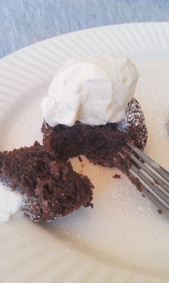 Chocolate Lava Muffins 5