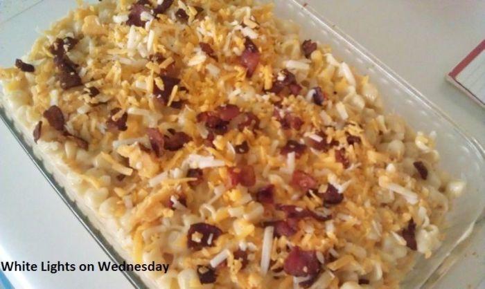 Four-Cheese Macaroni with Bacon