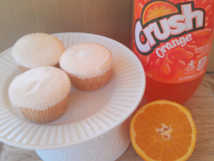 Orange Crush Cupcakes 2