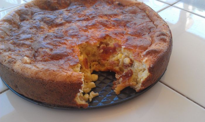 Cheddar-Bacon Spoon Bread 28