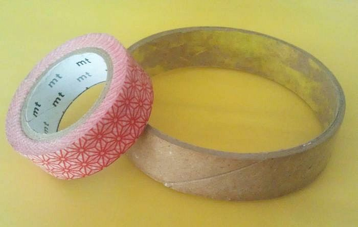 Washi Tape Bangle 1