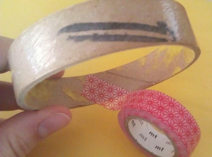 Washi Tape Bangle 2