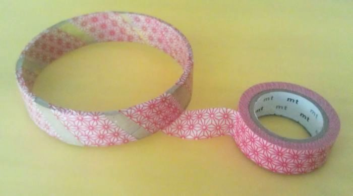 Washi Tape Bangle 5