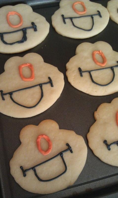 Elmo Cookies 2