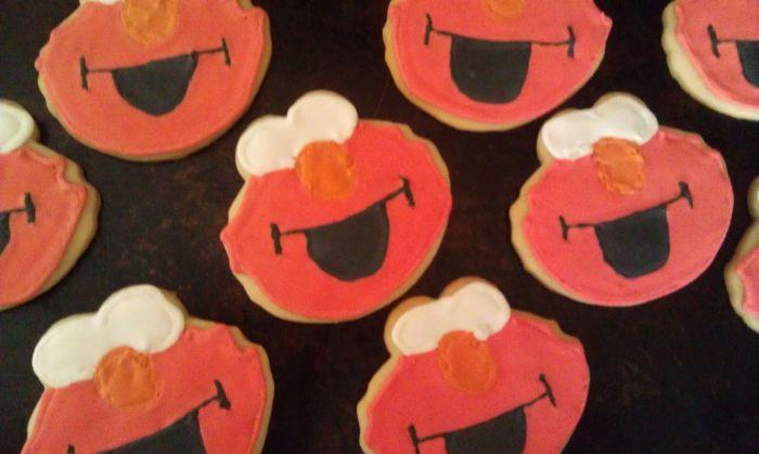 Elmo Cookies 6