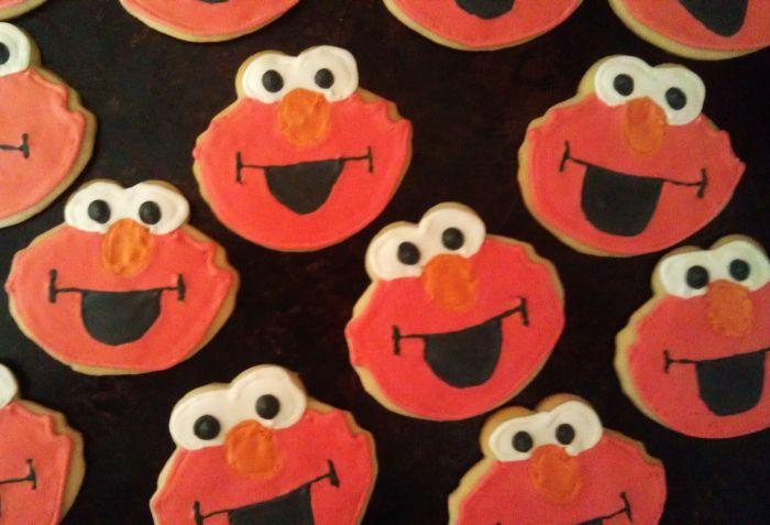 Elmo Cookies 7