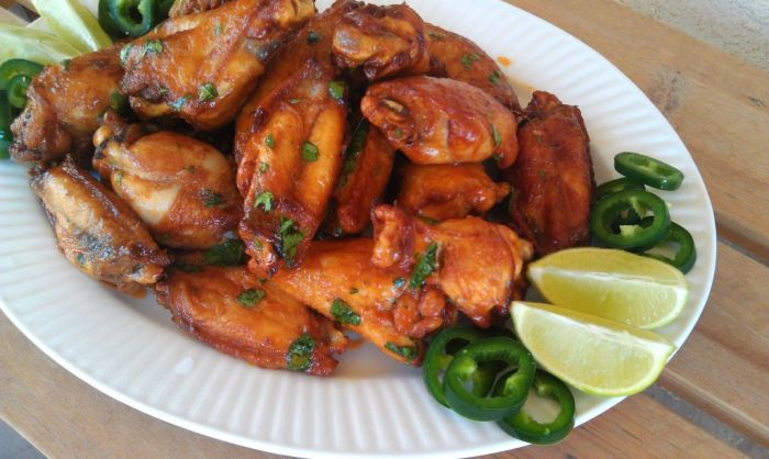 Sriracha Lime Chicken Wings | White Lights on Wednesday